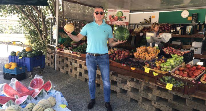 Fruit Stand in Bolgheri