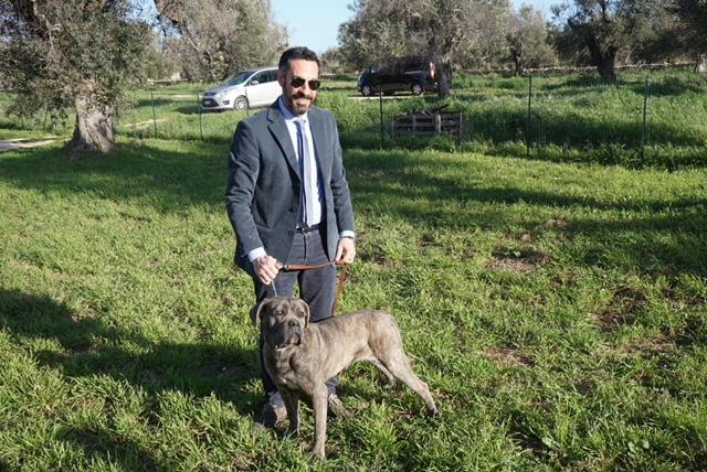 Leuzzi and Cane Corso