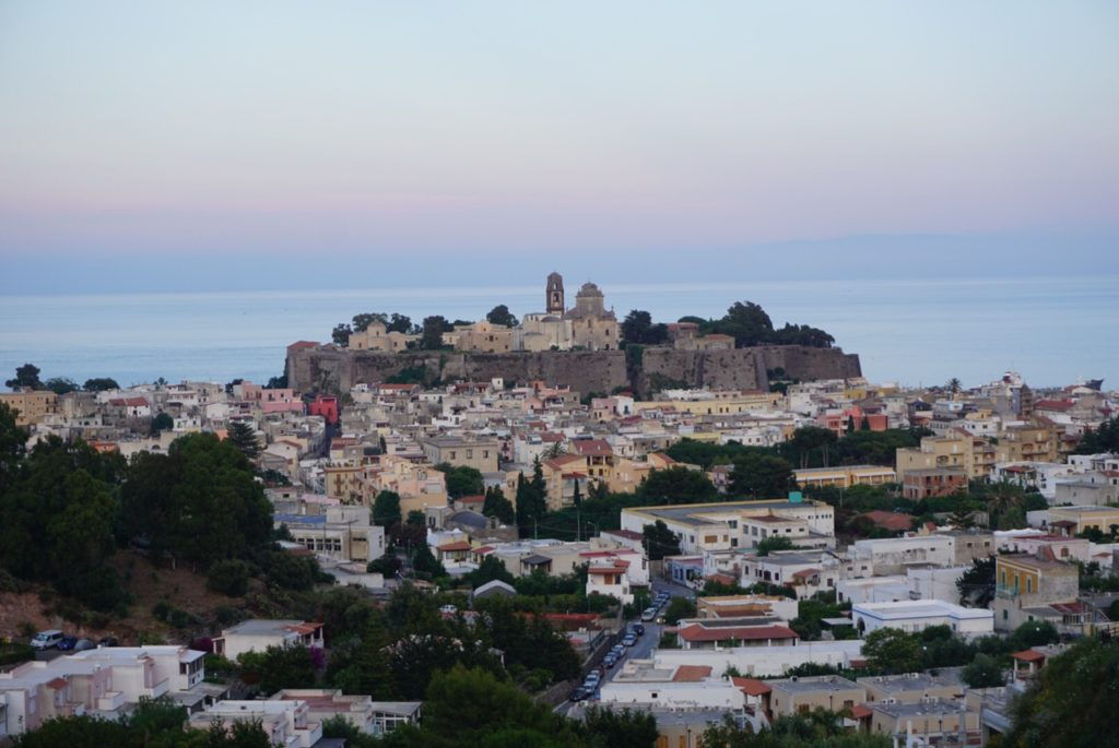 The Castle of Lipari