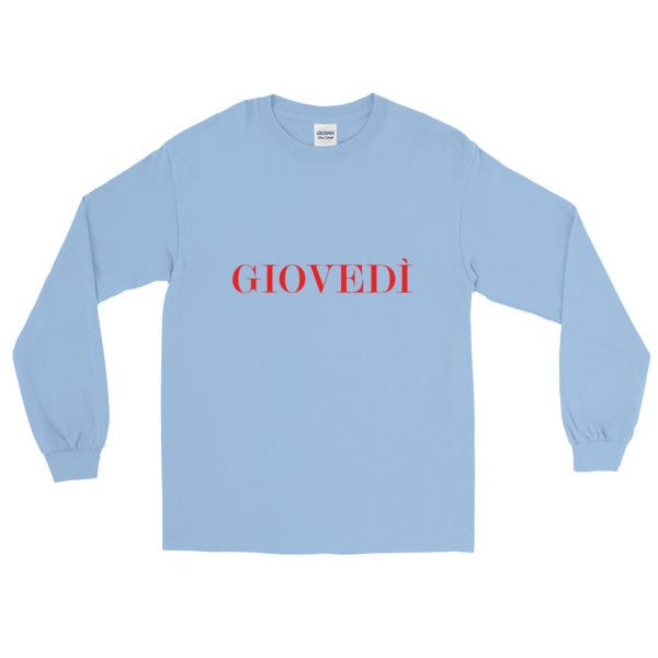 Long Sleeve T-Shirt - Thursday - The Italian Enthusiast