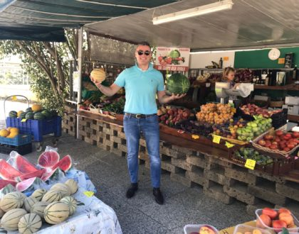 Fruit Stand in Bolgheri