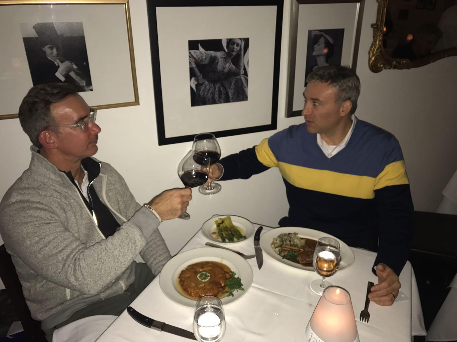 Conversing in Florentine
