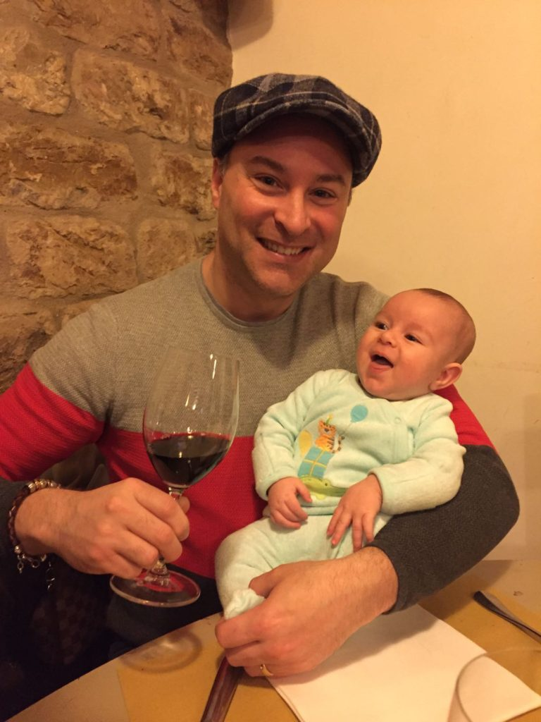 Baby's First Smell of Vino