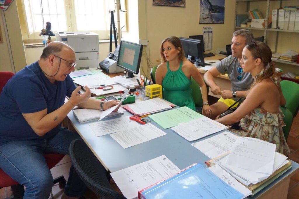 Meeting with the Clerk of the Comune di Lipari, June 2016