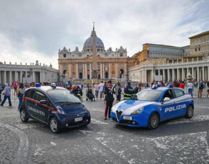 Police Cars in Italy